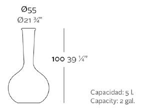 Grand vase Chemistube Vondom