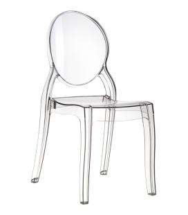 Chaise transparente ELIZABETH