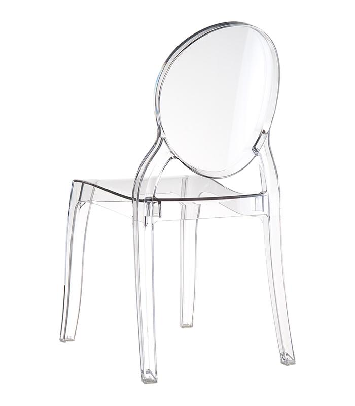 Chaises transparentes elizabeth - Chaise transparente elizabeth cosy ...