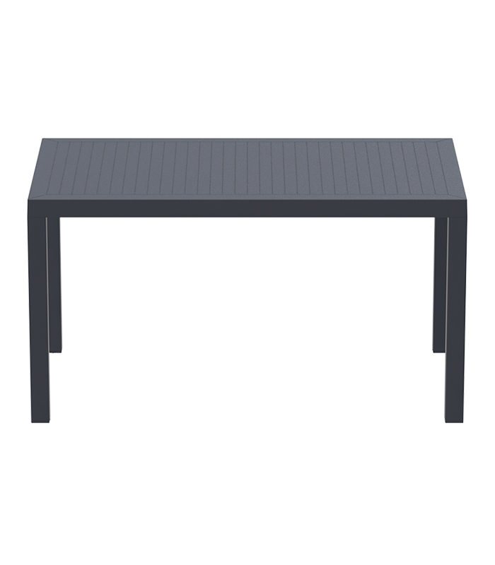 table de jardin en r sine ares 80 x 140 cm aspect r sine. Black Bedroom Furniture Sets. Home Design Ideas