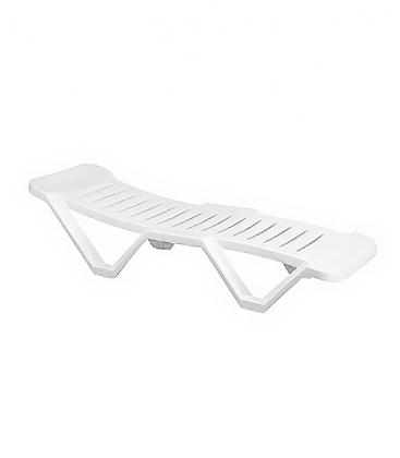 bain de soleil en r sine blanche empilable id al collectivit. Black Bedroom Furniture Sets. Home Design Ideas