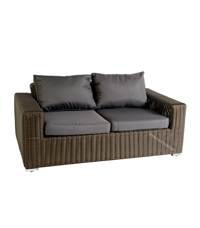 Salon de jardin osier bruno for Sofas de exterior baratos