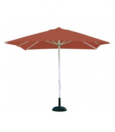 parasol carr 3x3 m m t alu et toile polyester. Black Bedroom Furniture Sets. Home Design Ideas