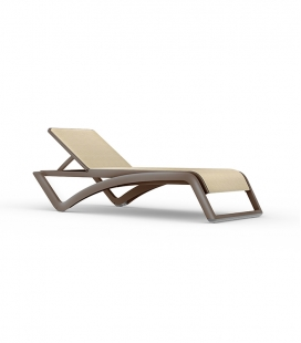 Chaise-longue SKY Wengé