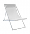 Chilienne chaise longue SAND