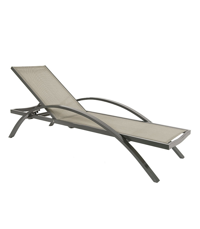 Bain de soleil en aluminium comfort - Bain de soleil confortable ...