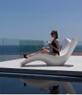 Bain de soleil piscine design SURF
