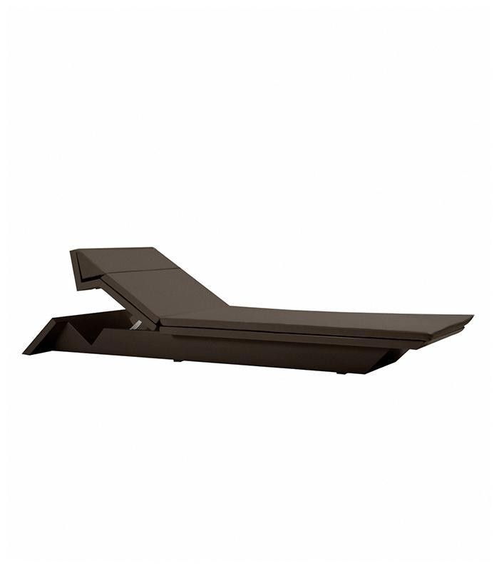 Chaise longue moderne rest for Bain de soleil chaise longue