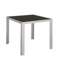 Table jardin aluminium CUBIC