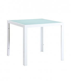 Table de jardin aluminium SHIO