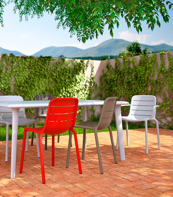 chaise de terrasse empilable. Black Bedroom Furniture Sets. Home Design Ideas