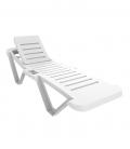 Chaise longue plastique MASTER