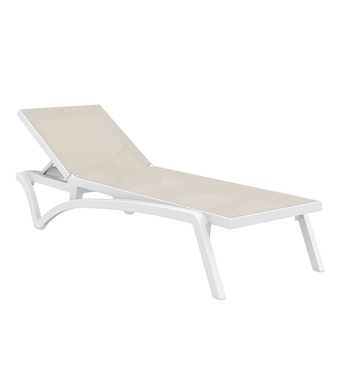 Chaise longue resine cheap chaise longue rsine surf with for Chaise longue de jardin en solde