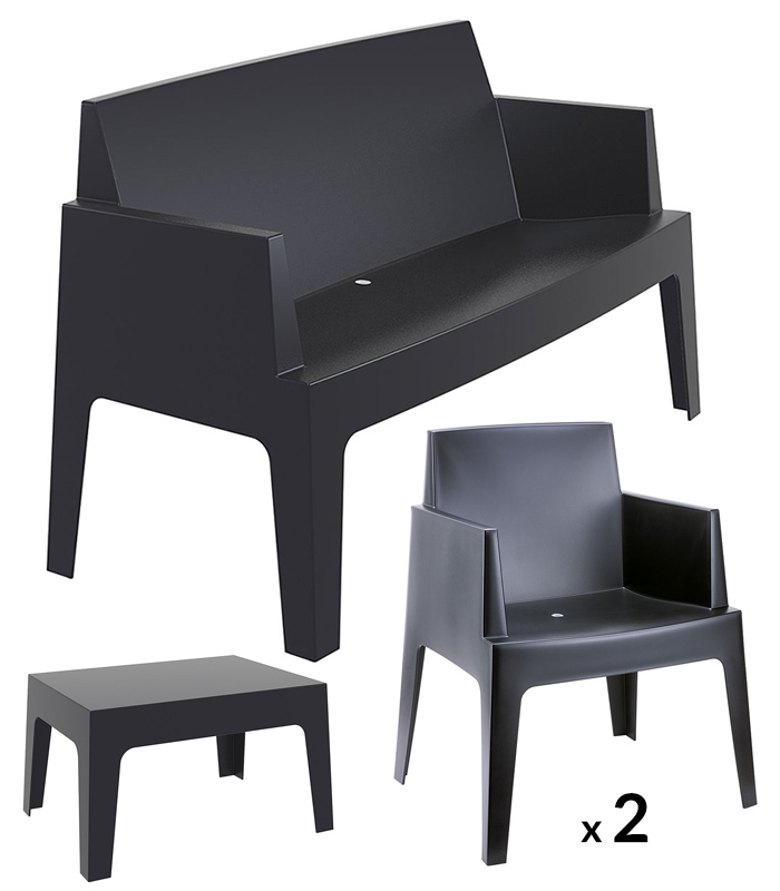 salon de jardin resine pas cher urban. Black Bedroom Furniture Sets. Home Design Ideas