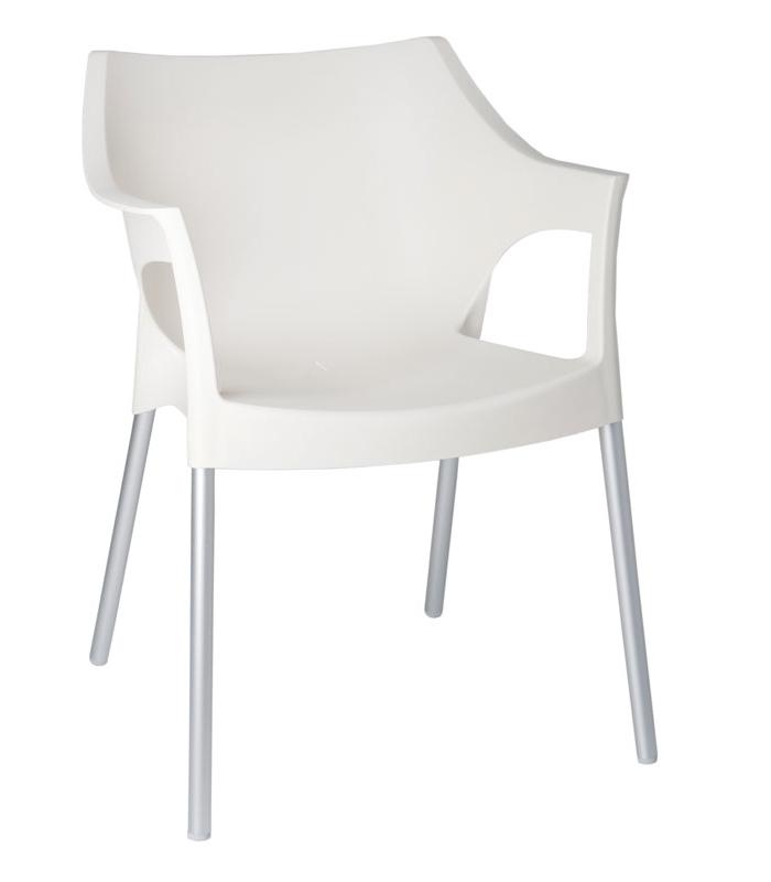 fauteuil pole ext rieur plastique en r sine polypropyl ne et aluminium. Black Bedroom Furniture Sets. Home Design Ideas