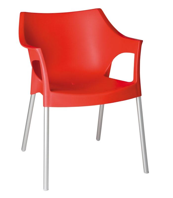 fauteuil pole ext rieur plastique en r sine polypropyl ne. Black Bedroom Furniture Sets. Home Design Ideas