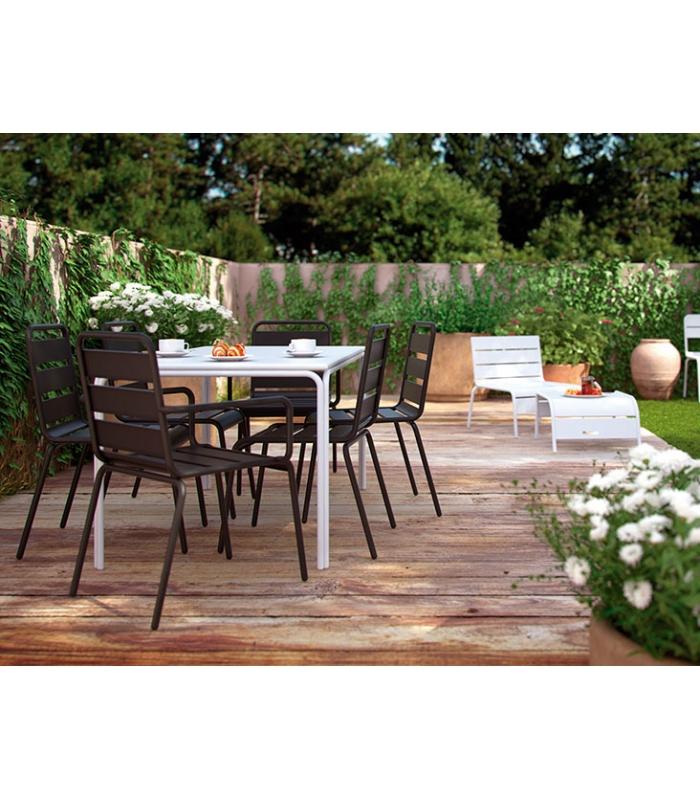 table de jardin metal colore table ronde fauteuils salon de jardin metal colore js des id es. Black Bedroom Furniture Sets. Home Design Ideas