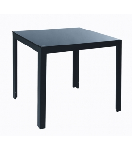 Table carré aluminium MAMBA
