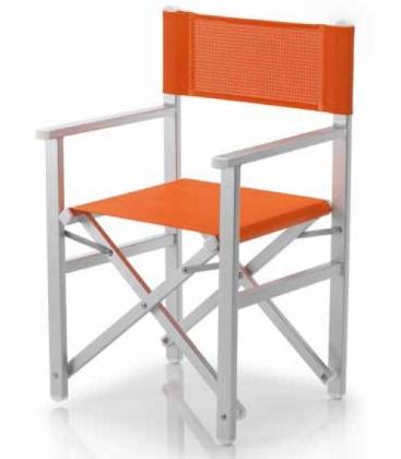 fauteuil pliant aluminium metteur en sc ne ramberti et toile. Black Bedroom Furniture Sets. Home Design Ideas