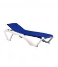 Bain de soleil marina bleu