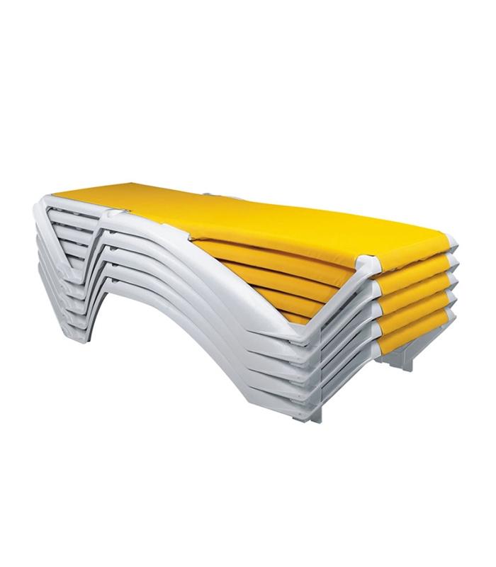 Transat marina empilable du fabricant resol un best sellers for Transat bain de soleil leclerc