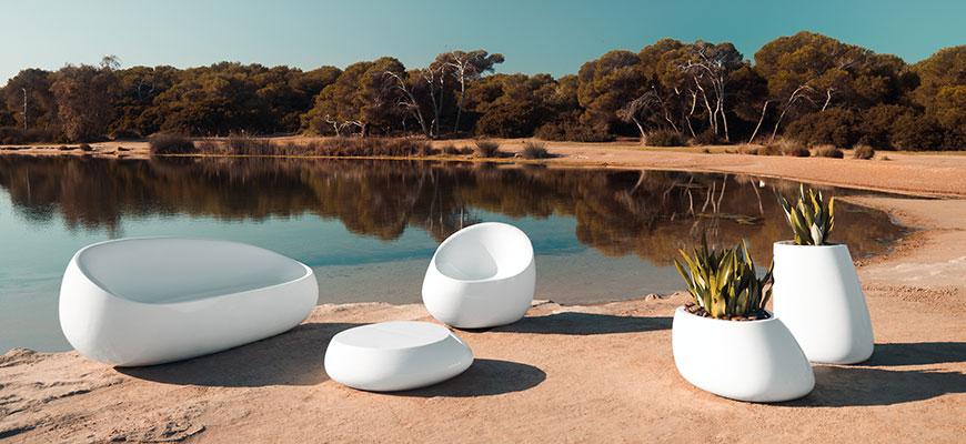 Mobilier jardin design - Bain de soleil Marina