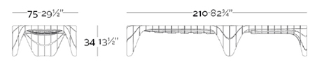dimensions transat design F3