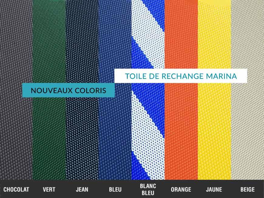 toile textil ne bain de soleil nouveaux coloris. Black Bedroom Furniture Sets. Home Design Ideas