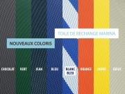 Transat Marina, nouvelles toiles textilène…