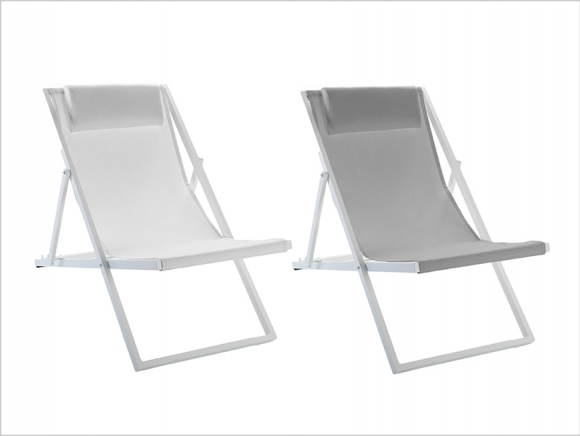 Chaise relax SAND, confortable et intemporelle