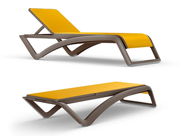 Chaise longue SKY, un design moderne